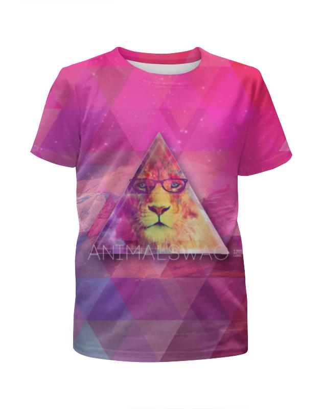 Printio animalswag ii collection: lion футболка с полной запечаткой женская printio animalswag ii collection deer