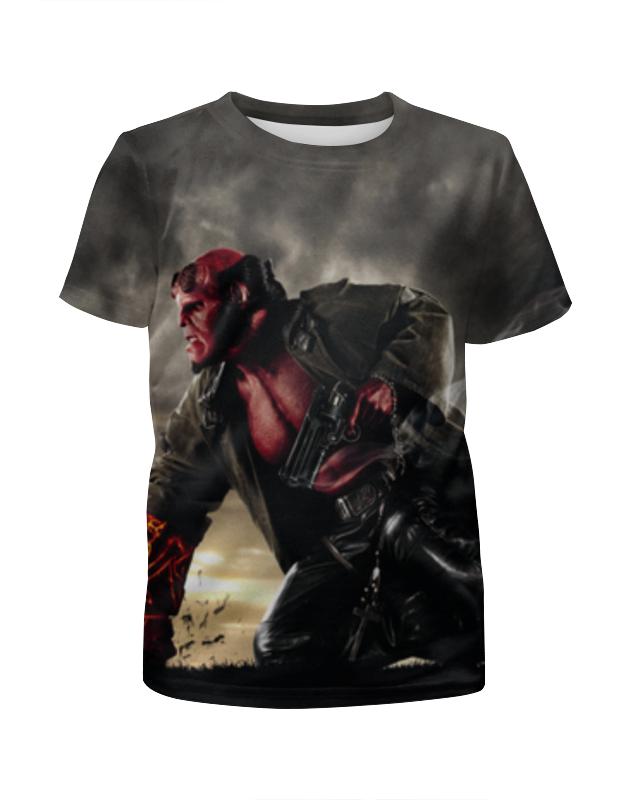 Футболка с полной запечаткой для мальчиков Printio Хеллбой / hellboy футболка с полной запечаткой женская printio хеллбой hellboy