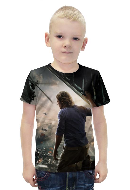 Футболка с полной запечаткой для мальчиков Printio Война миров z футболка с полной запечаткой printio война миров z