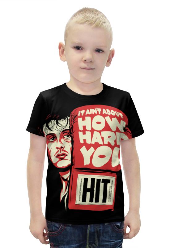Футболка с полной запечаткой для мальчиков Printio Рокки футболка с полной запечаткой для мальчиков printio bats spawn arsb