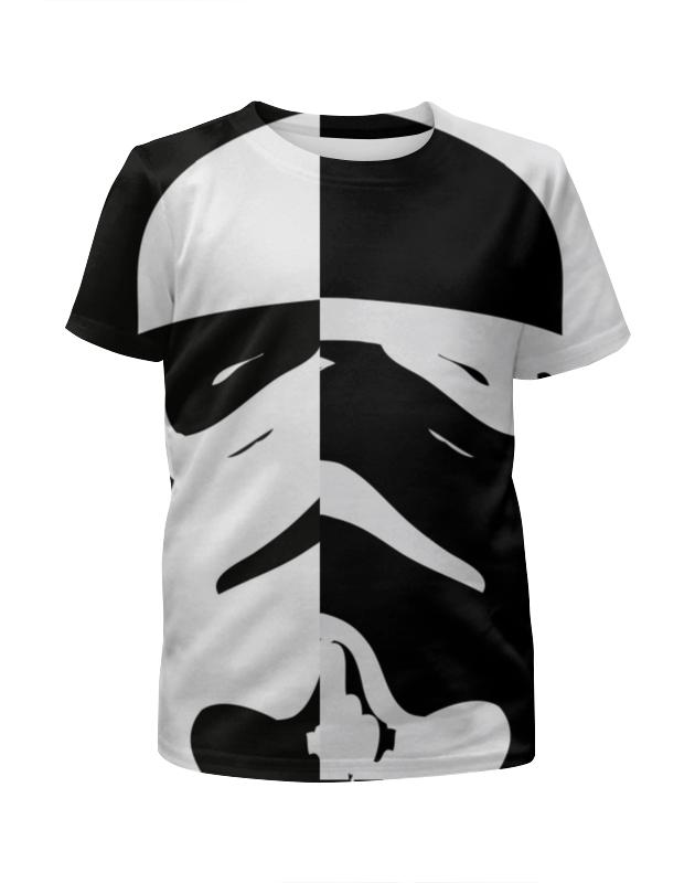 Футболка с полной запечаткой для мальчиков Printio Штурмовик футболка с полной запечаткой для мальчиков printio сланцы