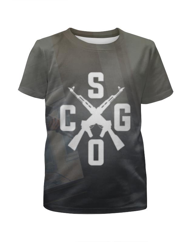 Футболка с полной запечаткой для мальчиков Printio Cs:go свитшот унисекс с полной запечаткой printio counter strike global offensive