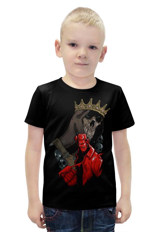 Футболка с полной запечаткой для мальчиков Printio Хеллбой / hellboy футболка с полной запечаткой для девочек printio хеллбой hellboy
