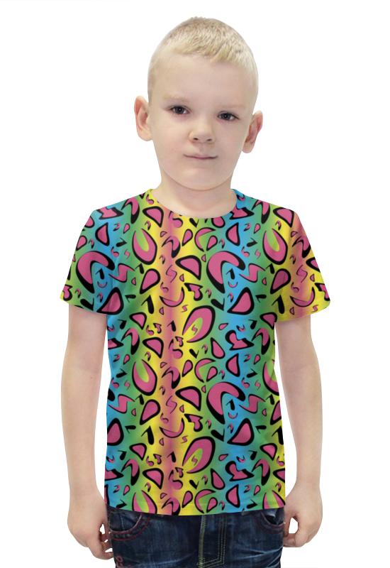 Футболка с полной запечаткой для мальчиков Printio Звериный футболка с полной запечаткой для мальчиков printio bats spawn arsb