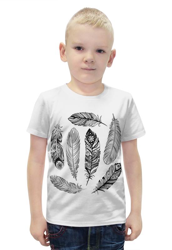 Футболка с полной запечаткой для мальчиков Printio Перья футболка с полной запечаткой для мальчиков printio bats spawn arsb