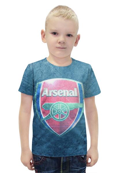 """Футболка с полной запечаткой для мальчиков """"Арсенал (Arsenal)"""" - arsenal, арсенал"""