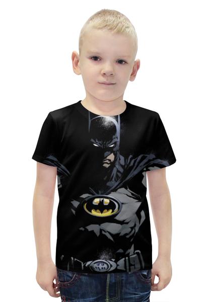 """Футболка с полной запечаткой для мальчиков """"Batman"""" - комиксы, batman, фильмы, бэтмен"""