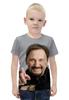 """Футболка с полной запечаткой для мальчиков """"Стас Михайлов. В черной рубашке. Очень красивый!"""" - любовь, арт, стас михайлов, шансон"""