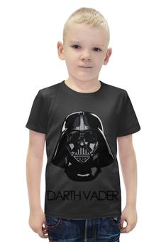 """Футболка с полной запечаткой для мальчиков """"Дарт Вейдер (Звездные Войны)"""" - star wars, darth vader, звездные войны, дарт вейдер"""