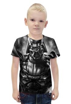 """Футболка с полной запечаткой для мальчиков """"Dart Vader"""" - дарт вейдер, dart vader"""