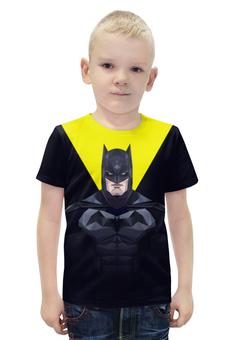"""Футболка с полной запечаткой для мальчиков """"Batman"""" - супергерой"""
