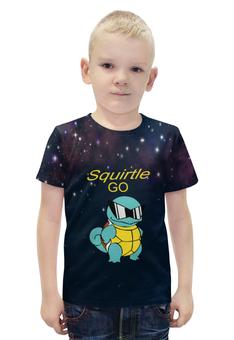 """Футболка с полной запечаткой для мальчиков """"PoKeMon Squirtle"""" - pokemon, черепаха, покемоны, сквиртл, squirtle"""