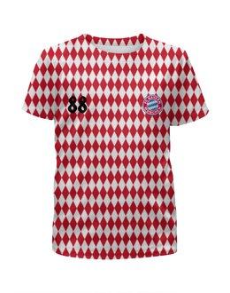 """Футболка с полной запечаткой для мальчиков """"""""FC BAYERN"""""""" - fcbayern"""