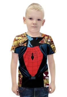"""Футболка с полной запечаткой для мальчиков """"Человек-паук (Spider-man)"""" - spider man, spider-man, человек-паук"""