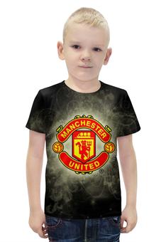 """Футболка с полной запечаткой для мальчиков """"Манчестер Юнайтед (МЮ)"""" - манчестер юнайтед, мю"""