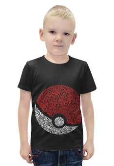 """Футболка с полной запечаткой для мальчиков """"покемон (Pokémon)"""" - pokemon, покемон, покемоны"""