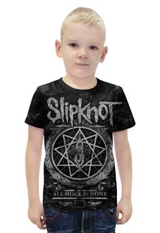 """Футболка с полной запечаткой для мальчиков """"Slipknot"""" - slipknot"""