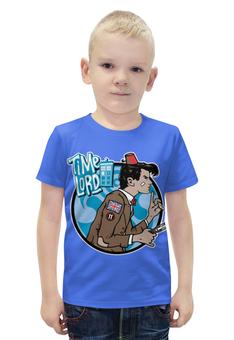 "Футболка с полной запечаткой для мальчиков ""Доктор Кто (Doctor Who)"" - doctor who, tardis, доктор кто, тардис, time lord"