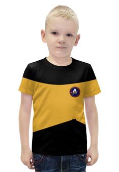 """Футболка с полной запечаткой для мальчиков """"Star Trek"""" - арт, star trek, стар трек, звездный путь"""