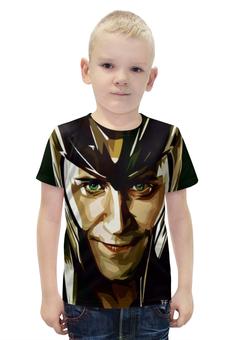 """Футболка с полной запечаткой для мальчиков """"Локи (Loki)"""" - marvel, loki, локи, тор, доктор стрэндж"""