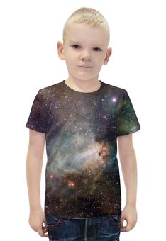 """Футболка с полной запечаткой для мальчиков """"Космос"""" - арт, space, стиль, космос, дизайн"""