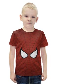 """Футболка с полной запечаткой для мальчиков """"Человек-паук"""" - spider-man, человек-паук"""