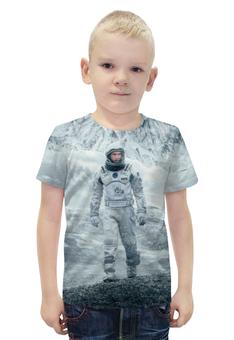 """Футболка с полной запечаткой для мальчиков """"Interstellar"""" - планета, космос, интерстеллар, interstellar, макконахи"""