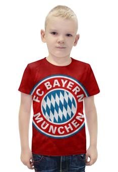 """Футболка с полной запечаткой для мальчиков """"Бавария Мюнхен"""" - бавария мюнхен, bayern münchen"""