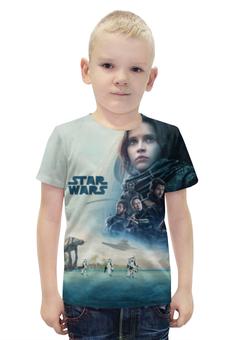 """Футболка с полной запечаткой для мальчиков """"Изгой-один. Звёздные войны"""" - star wars, rogue one"""