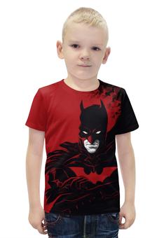 """Футболка с полной запечаткой для мальчиков """"Бэтмен / Batman"""" - комикс, рисунок, кино, бэтмен"""