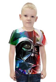 """Футболка с полной запечаткой для мальчиков """"Darth Vader"""" - star wars, звездные войны, дарт вейдер"""