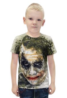 """Футболка с полной запечаткой для мальчиков """"джокер , Joker"""" - joker, джокер"""