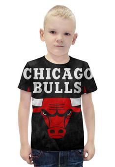 """Футболка с полной запечаткой для мальчиков """"Chicago Bulls"""" - chicago, bulls, нба, chicago bulls"""