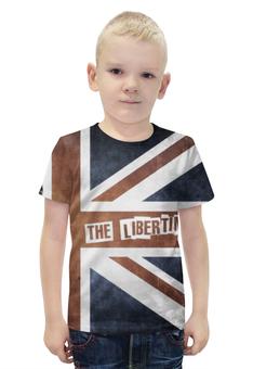 """Футболка с полной запечаткой для мальчиков """"The Libertines"""" - рок, rock, uk, the libertines"""