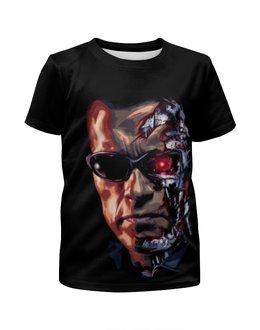 """Футболка с полной запечаткой для мальчиков """"Terminator"""" - терминатор, terminator, арнольд шварценеггер, the terminator"""