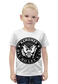 """Футболка с полной запечаткой для мальчиков """"Ramones"""" - ramones, рамоунз"""