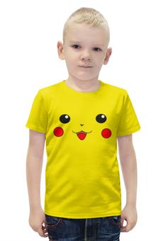 """Футболка с полной запечаткой для мальчиков """"Pokemon go"""" - игра, pokemon go"""