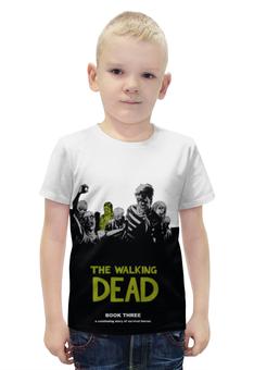 """Футболка с полной запечаткой для мальчиков """"Walking Dead"""" - ходячие мертвецы, walking dead"""