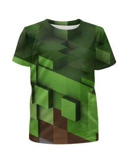 """Футболка с полной запечаткой для мальчиков """"Minecraft"""" - minecraft"""