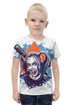 "Футболка с полной запечаткой для мальчиков ""Harley Quinn"" - harley quinn"