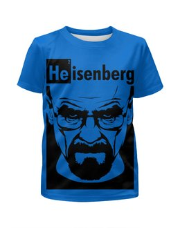 """Футболка с полной запечаткой для мальчиков """"Хайзенберг (Во все тяжкие)"""" - во все тяжкие, breaking bad, heisenberg, хайзенберг"""