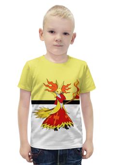 """Футболка с полной запечаткой для мальчиков """"PoKeMon Delphox"""" - pokemon, покемон, delphox, дельфокс"""