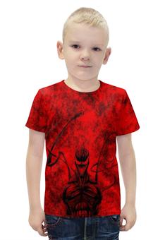 """Футболка с полной запечаткой для мальчиков """"Carnage"""" - spider-man, марвел, человек-паук, карнаж, carnage"""