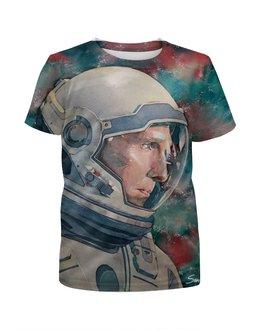 """Футболка с полной запечаткой для мальчиков """"Interstellar"""" - арт, космос, кино, интерстеллар, interstellar"""