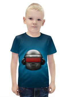 """Футболка с полной запечаткой для мальчиков """"Daft Punk"""" - daft punk"""