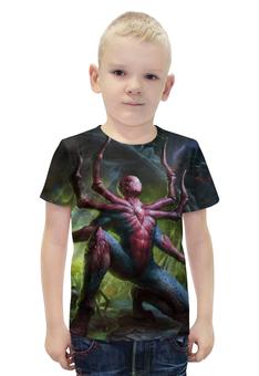 """Футболка с полной запечаткой для мальчиков """"Человек-паук / Spider-Man"""" - рисунок, марвел, человек-паук"""