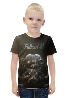 """Футболка с полной запечаткой для мальчиков """"Fallout 4"""" - fallout, vault, fallout4, newvegas"""