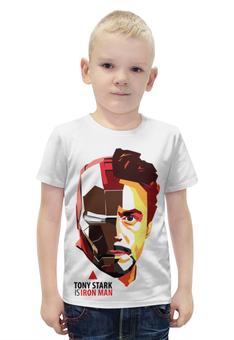"""Футболка с полной запечаткой для мальчиков """"Железный Человек (Iron Man)"""" - железный человек, iron man"""