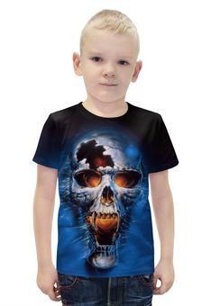 """Футболка с полной запечаткой для мальчиков """"Death (Смерть)"""" - череп, готика, death, смерть, мистика"""