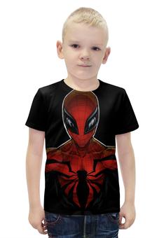 """Футболка с полной запечаткой для мальчиков """"Человек Паук"""" - spider man"""